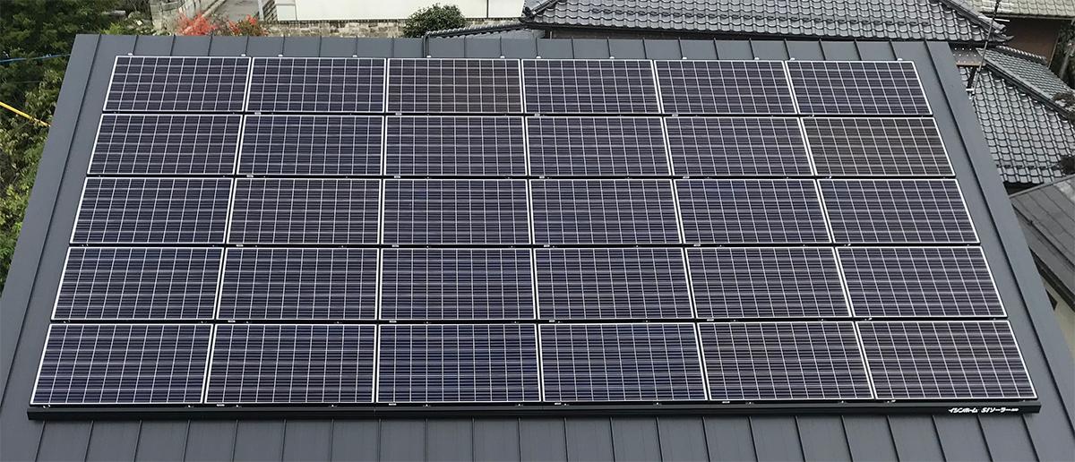 これからの住まいにクリーンな太陽光発電と災害にも強い蓄電を