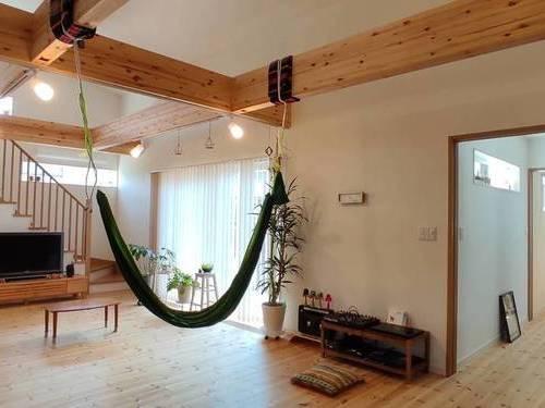暮らしを愉しむロフト付の『平屋の家』