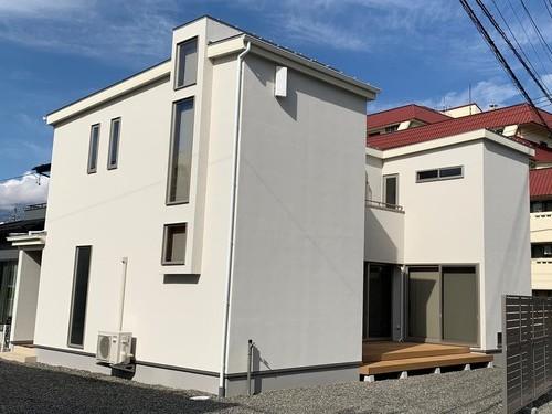 オーガニックハウス『INDI-ONE』をカスタマイズしたオリジナルデザインのお家