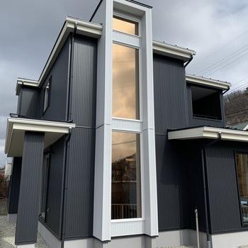 家事動線を考えたスタイリッシュなデザインのお家